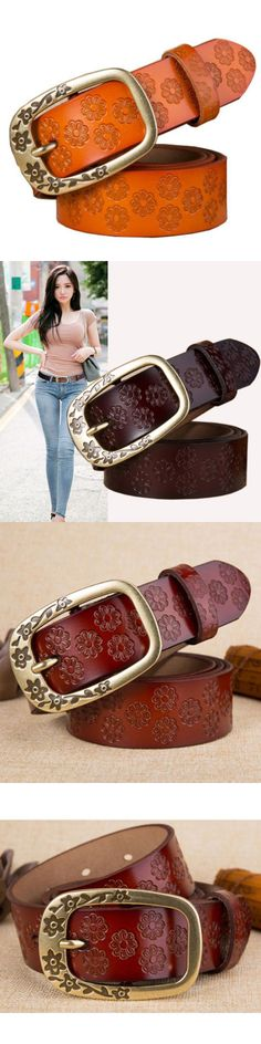 c15564fdf32 Belts 3003  New Fashion Womens Leather Belt Genuine Leather Belt For Jeans  Waist Size Xs