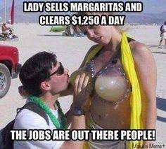 Breast margaritas in town