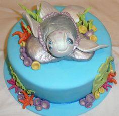 Sea turtle cakes, Sea turtles and Turtle cakes on Pinterest
