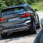 2016 BMW X1 Car Back View