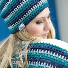 Häkelmuster: Tuch, Loop und Beanie häkeln - so geht's You are in the right place about handschuhe si Crochet Ripple, Crochet Fall, Free Crochet, Knit Crochet, Knitted Shawls, Crochet Scarves, Crochet Clothes, Diy Mode, Creative Textiles