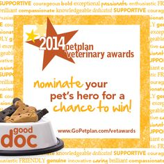 There's only 10 more days to nominate your pet's hero for the chance to win a $100 PetSmart gift card! Hurry - ends Nov. 15!