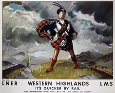 I'm only going if I get to hang out with this guy. (Ok, I'd go anyway, but that dude is wearing the hell out of that kilt.)