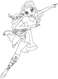 free printable super hero high coloring page for poison ivy i love to color these again - Free Printable Pictures To Color