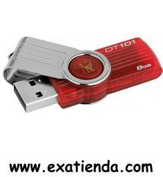 Ya disponible Memoria USB 2.0 Kingston 8gb dt101g2/8gb    (por sólo 13.89 € IVA incluído):   -Capacidad: 8GB -Interface: USB 2.0 -Velocidad lectura: 10MB/s -Velocidad escritura: 5 MB/s  -Otros:-  -P/N: DT101G2/8GB    Garantía de 24 meses.  http://www.exabyteinformatica.com/tienda/1017-memoria-usb-2-0-kingston-8gb-dt101g2-8gb #memoria #exabyteinformatica