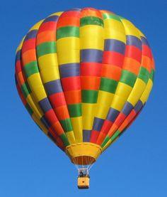 Hot Air Balloon Festival in Buena Vista, Colorado
