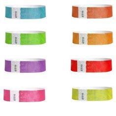 Metallic Wristbands