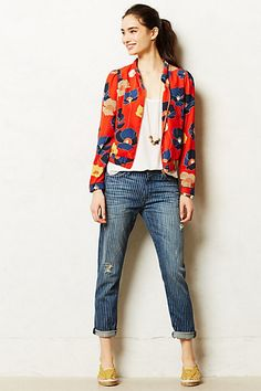 Detail1..this look from Anthropologie....love the color and pattern!