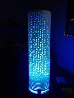 Luminarias em tubos de pvc