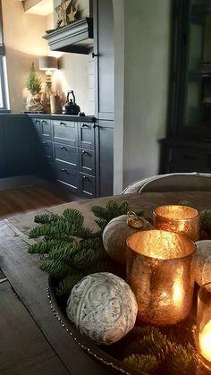 Christmas Time, Merry Christmas, Christmas Decorations, Table Decorations, Farmhouse Christmas Decor, Mercury Glass, Cosy, Centerpieces, Creative