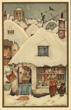 Anton Pieck schilder Nethetlands on Pinterest | Dutch, Arabian Nights ...