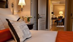 The Jefferson Hotel: Deluxe Suites are nearly 700 square feet and feature city views. Beaux Arts Architecture, Jefferson Hotel, Washington Dc Hotels, Hotel Suites, Hotel Reviews, Traditional House, Best Hotels, Interior Design, Furniture