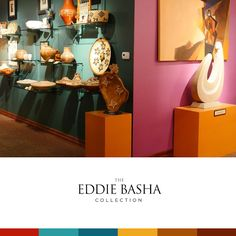 The Eddie Basha Collection can be seen at the Zelma Basha Salmeri Gallery, which officially opened in 1992.