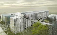 Spiretec. Edificio de usos mixtos en Greater Noida. New Delhi,India | idearch-studio