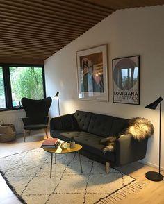 Living room #børgemogensen #wegner