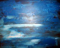 Study in Blue  Acrylic  Artist  Joseph Chubb