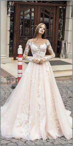 Moderne Brautkleider Liretta 2018 - wedding - Brautkleid 2019 - Brautkleid a linie - brautmode Wedding Dresses 2018, Bridal Dresses, Dresses Dresses, Event Dresses, Dresses Online, Vintage Wedding Dresses, Wedding Outfits, Robes Vintage, Wedding Dressses