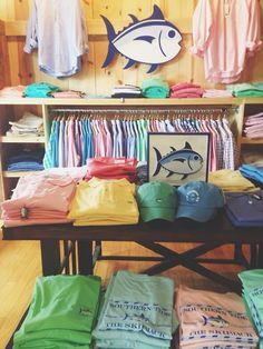 A whole table of southern tide, don't mind if I do! #TheSkipjack