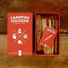 Campfire #Cologne on mollyjogger - Campfire Cologne is the Tried and True scent of your best summer ever. A #nostalgic ode to cooking over the fire, secret swimming holes and the unending days of youth. Use it frequently, transport yourself, live the dream.