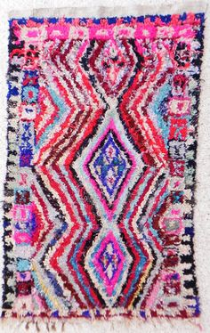 Boucherouite Rug 5#8 - 8 x 5