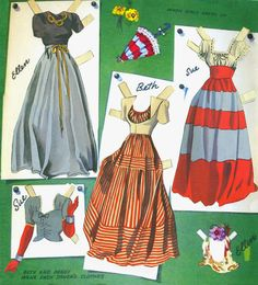 Big Big Cut Out Book pieced together - Bobe Green - Álbumes web de Picasa Child Doll, Baby Dolls, Kids Dolls, Paper Dolls Printable, Bobe, And Peggy, Vintage Paper Dolls, Retro Toys, Paper Toys