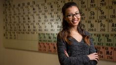 University of Maine senior Han Nguyen found her passion in an Introduction to Chemistry course her first year on campus. The Vietnam native enjoyed the intellectual challenges the course presented and especially liked the related laboratory work. And Nguyen came to appreciate chemistry's role in daily life — from the clothes we wear to the …