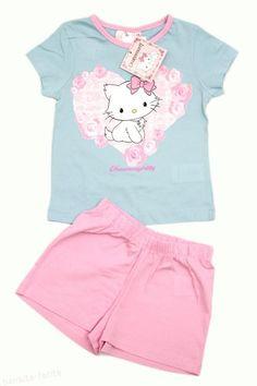 Ideala pentru zilele calduroase de vara, pijamaluta Charmmy Kitty este potrivita pentru fetite cu varsta cuprinsa intre 2 si 8 ani. Pret 36.00 lei http://hainute-fetite.ro/produs/pijama-vara-charmmy-kittybleu-roz/