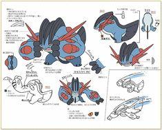 concept arts pokemon - Buscar con Google