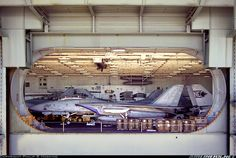 F-14 in hanger deck