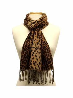 $4.50 Leopard Scarf