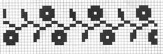 Counted cross stitch pattern - Romanian embroidery -19