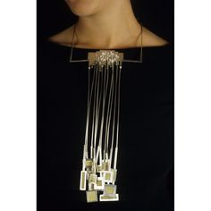 Necklace   Seth Papac. 'BFA Thesis Work'. 22K granulated gold, fine silver, sterling silver granulated, fabricated - 2004