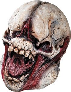 Monster Skull Halloween Mask YOU Become THE Halloween Prop   eBay