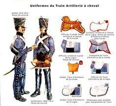 Treno di artiglieria a cavallo