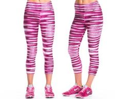 Nike Women's Legend 2.0 Capri Tight - Pink Tiger
