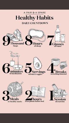 ♡ Daily habits ♡