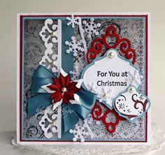 For You At Christmas *Heartfelt Creations* - Scrapbook.com
