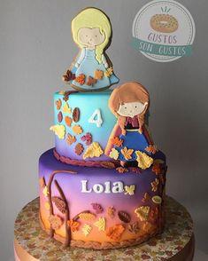 Frozen Themed Birthday Party, Disney Frozen Birthday, 4th Birthday Cakes, Frozen Party, 3rd Birthday Parties, 2nd Birthday, Pastel Frozen, Frozen 2, Frozen Cake