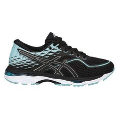 Featuring ASICS Convergence GEL technology and Rearfoot GEL Technology cushioning system the ASICS GELCumulus 19 model delivers superior comfort and shock dissipation for a smooth ride. The GELCumulus 19 model also sports a contemporized upper to signal the latest generation. Asics Running Shoes, Black Running Shoes, Latest Generation, Asics Women, Most Beautiful Pictures, Smooth, Blue And White, Technology, Model
