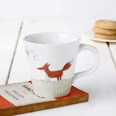 Fox & Rabbit Tapered Mug £17.00