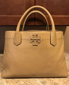 989394e0620 Tory Burch McGraw Triple-Compartment Satchel