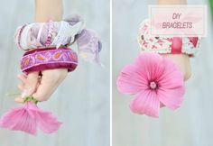 Crafty Niche • DIY boho bracelets. Note:  Ignore the shittiness...