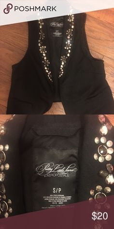 Pretty little liars Aria vest Aeropostale pretty little lairs vest Aria Aeropostale Tops Button Down Shirts