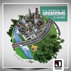 Uma boa qualidade de vida começa com um bom projeto de urbanismo. Uma homenagem à todos os urbanistas que sempre buscam soluções para as necessidades e bem-estar do cidadão.  #JTavaresConsultoriaImobiliária