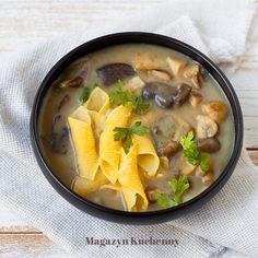 Wild mushroom soup   Grzybowa ze świeżych grzybów