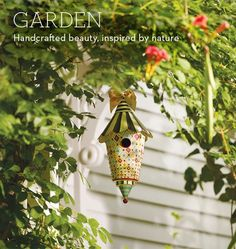 a touch of MacKenzie Childs - home or garden - is perfect