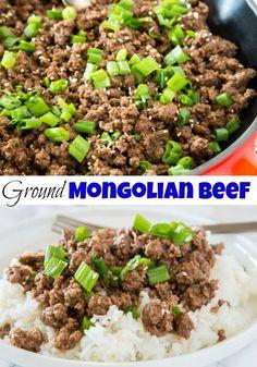 Asian Ground Beef Recipes Korean Bbq