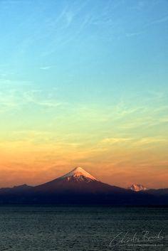 Pastel Skies By Charles Brooks Frutillar, Chile