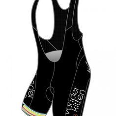 Vanderkitten Cycling Bib Short – Black | Vanderkitten