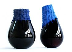 ARTISANAT : ''Innesti'' = Une superbe combinaison entre le verre et le textile par Alexandra Denton et Sofia Lazzeri.